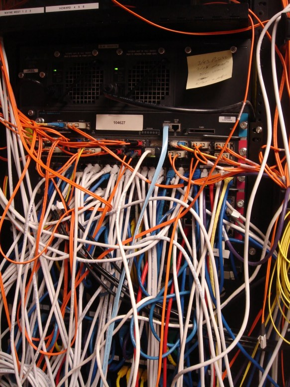 unmanaged cabling