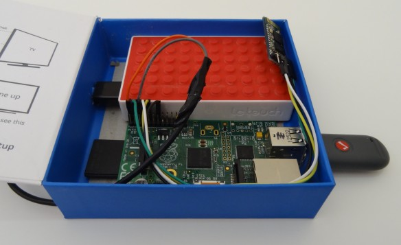 Raspberry Pi battery box