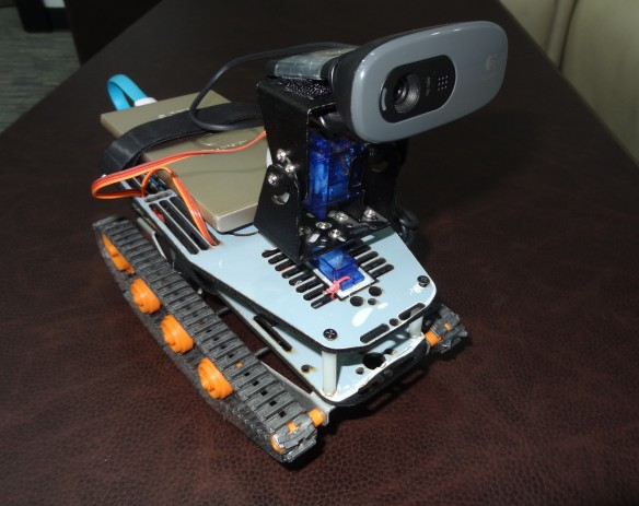 Arduino Yun Rover