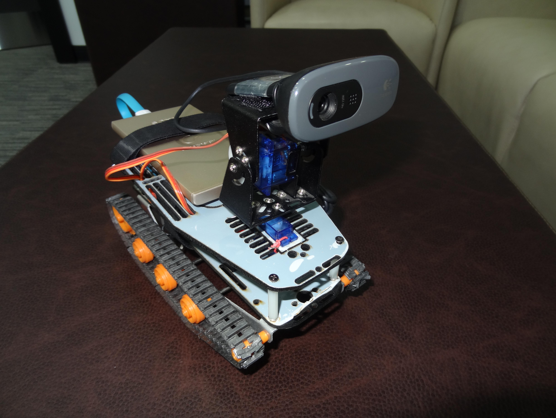 Arduino yun powered home surveillance rover baba awesam