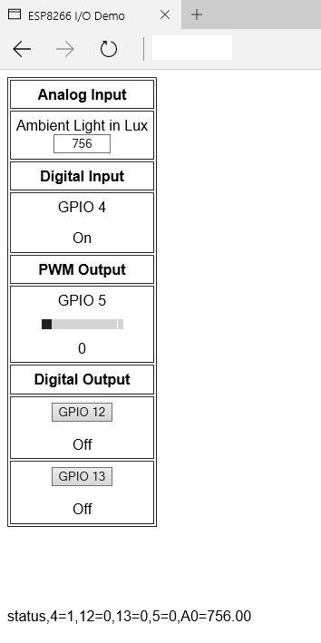 Control Input Output of ESP8266 with AJAX   Baba AweSam
